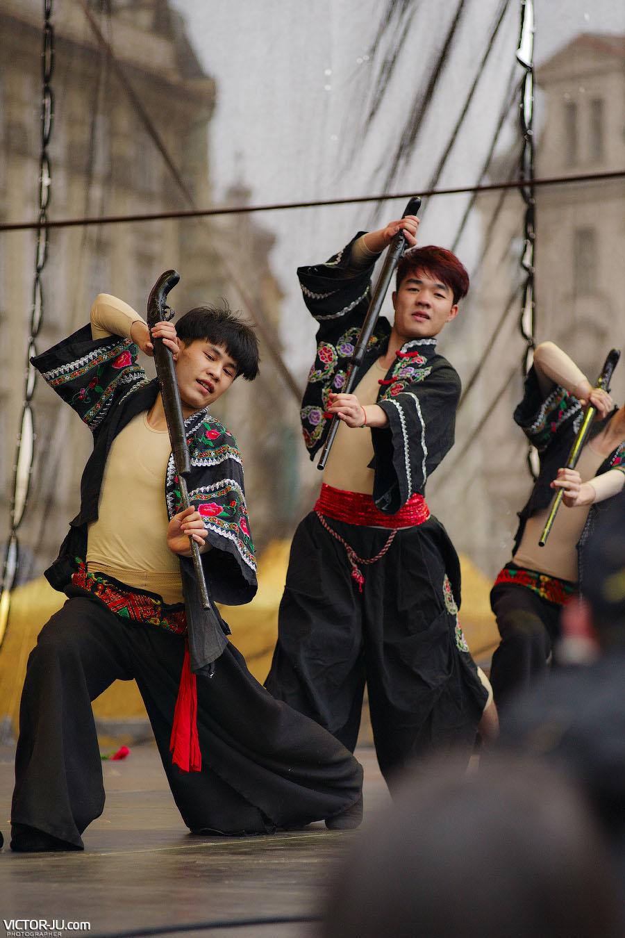 Китайская школа кунг-фу в Праге