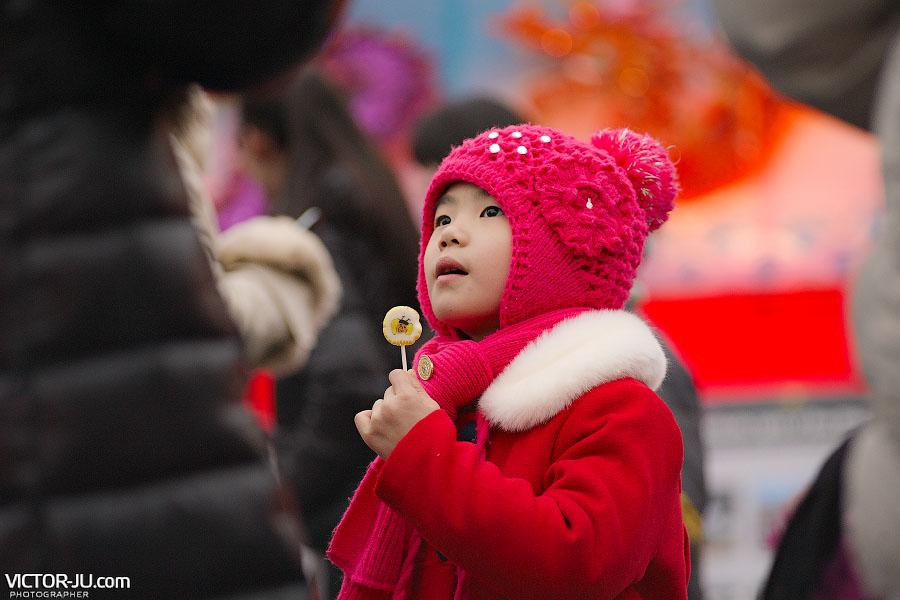 Китайский новый год дети