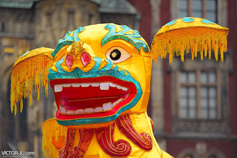 Новый год по китайскому календарю в Праге