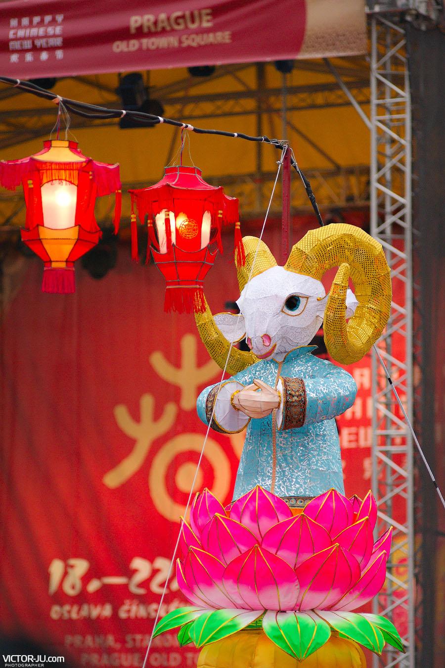 Овца - символ китайского Нового года 2015