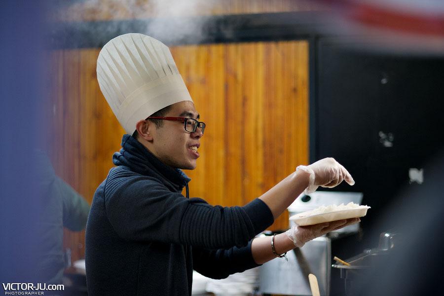 Китайский повар в Праге