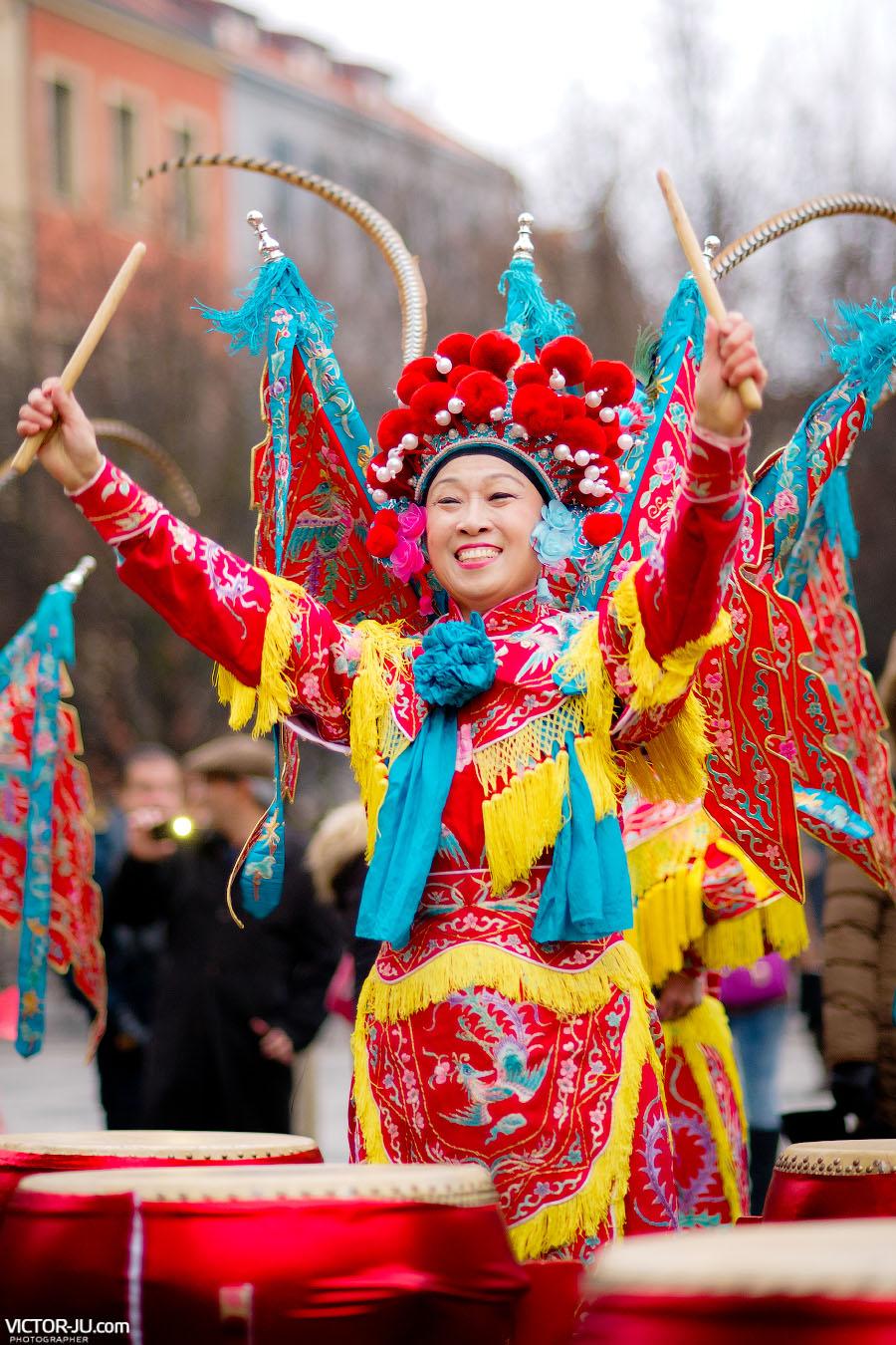 Барабаны на китайский Новый год