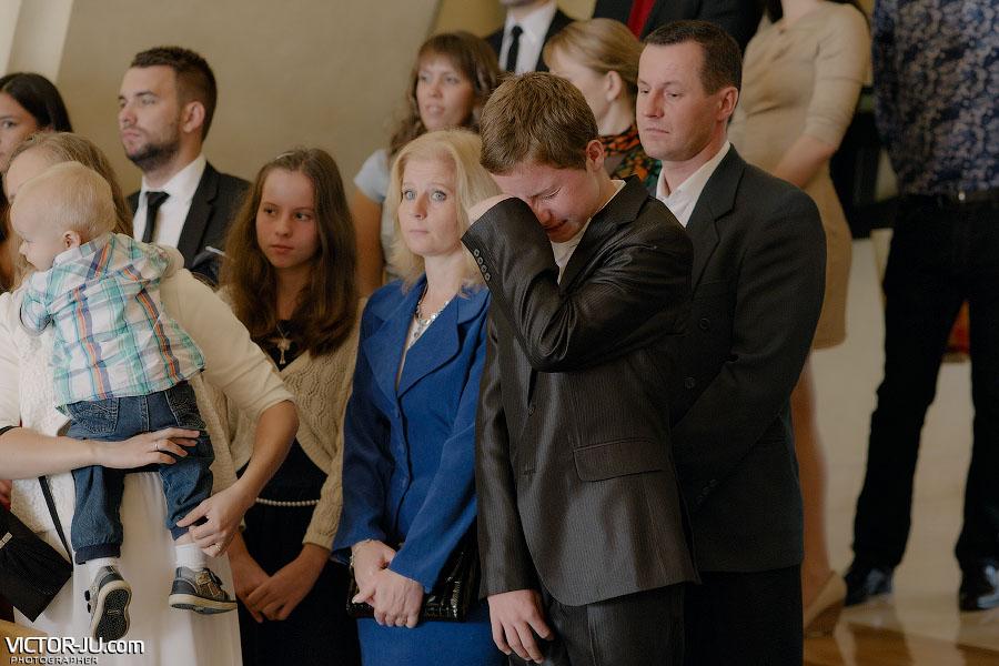 Слезы на свадьбе фото