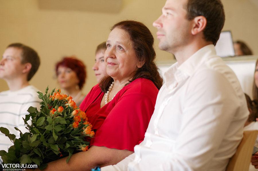Гости на церемонии