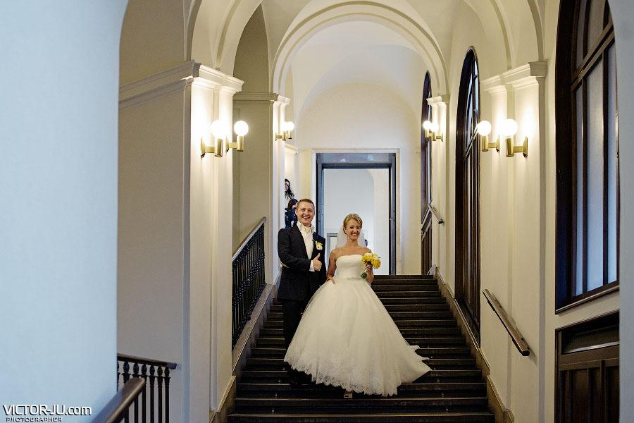 Жених и невеста в Чехии