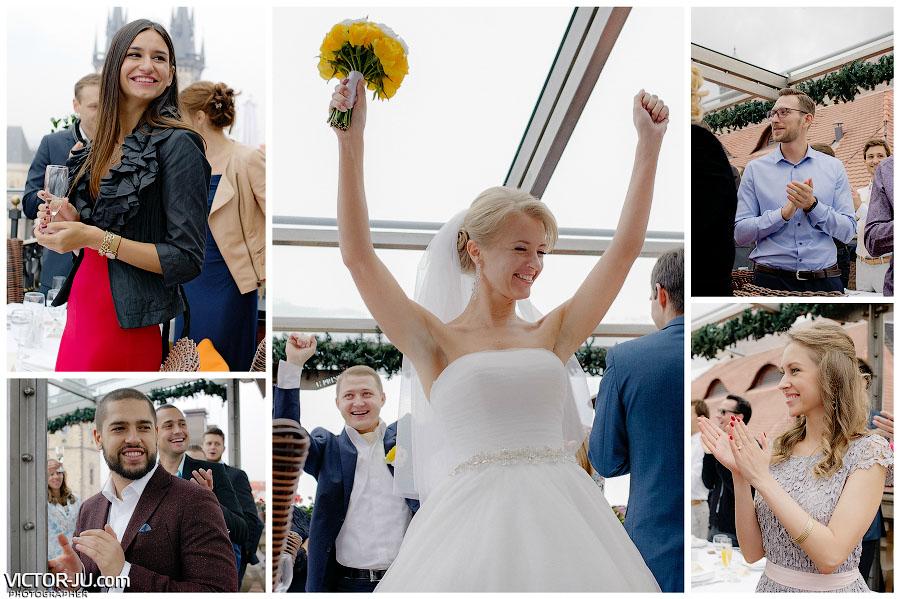 Свадьба в октябре в Чехии