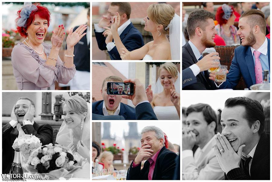 Осенняя свадьба в Чехии