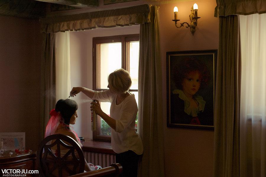 Услуги парикмахера в Праге