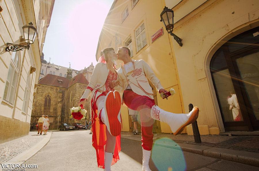 Маршрут свадебной прогулки в Праге