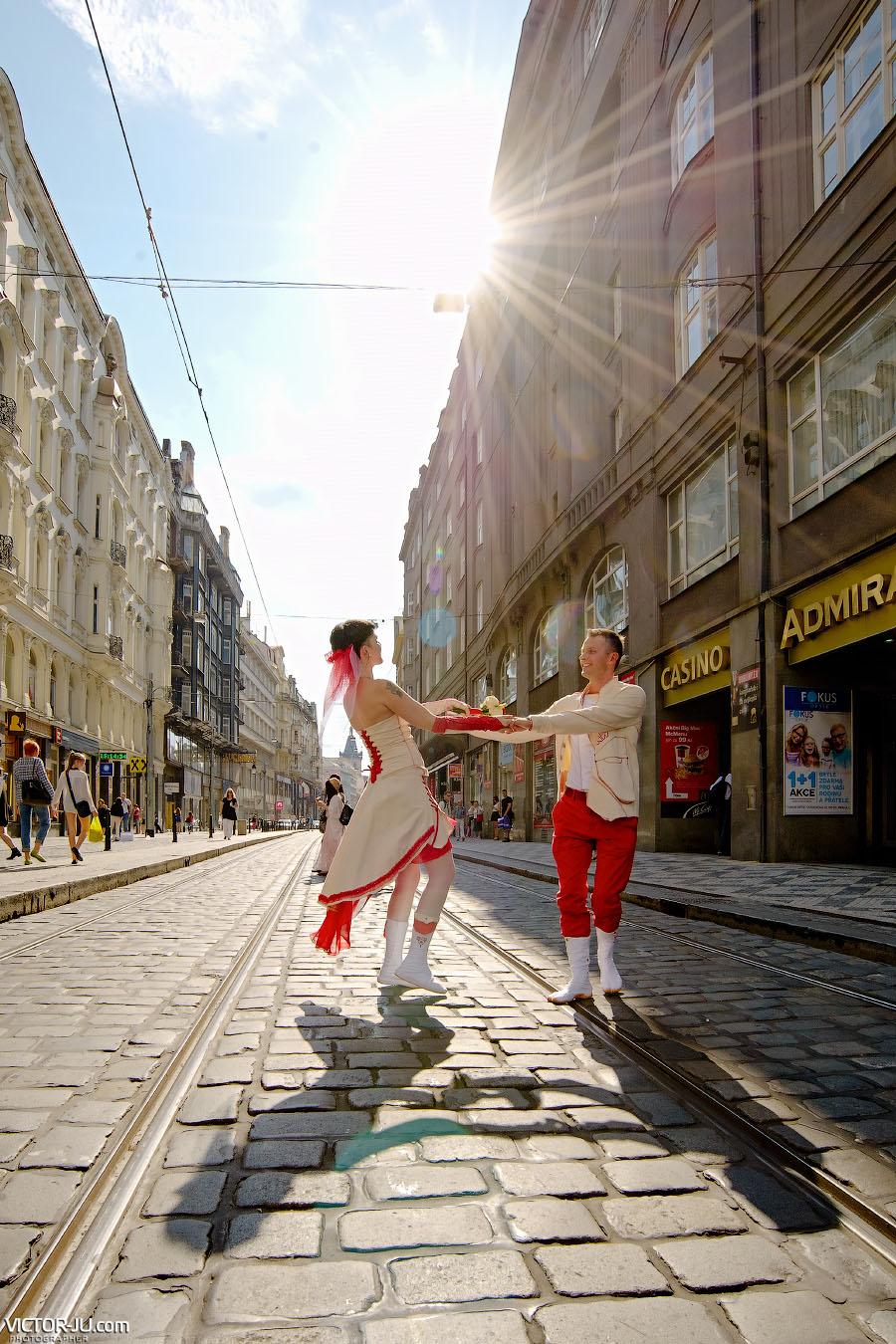 Солнечная осень в Праге