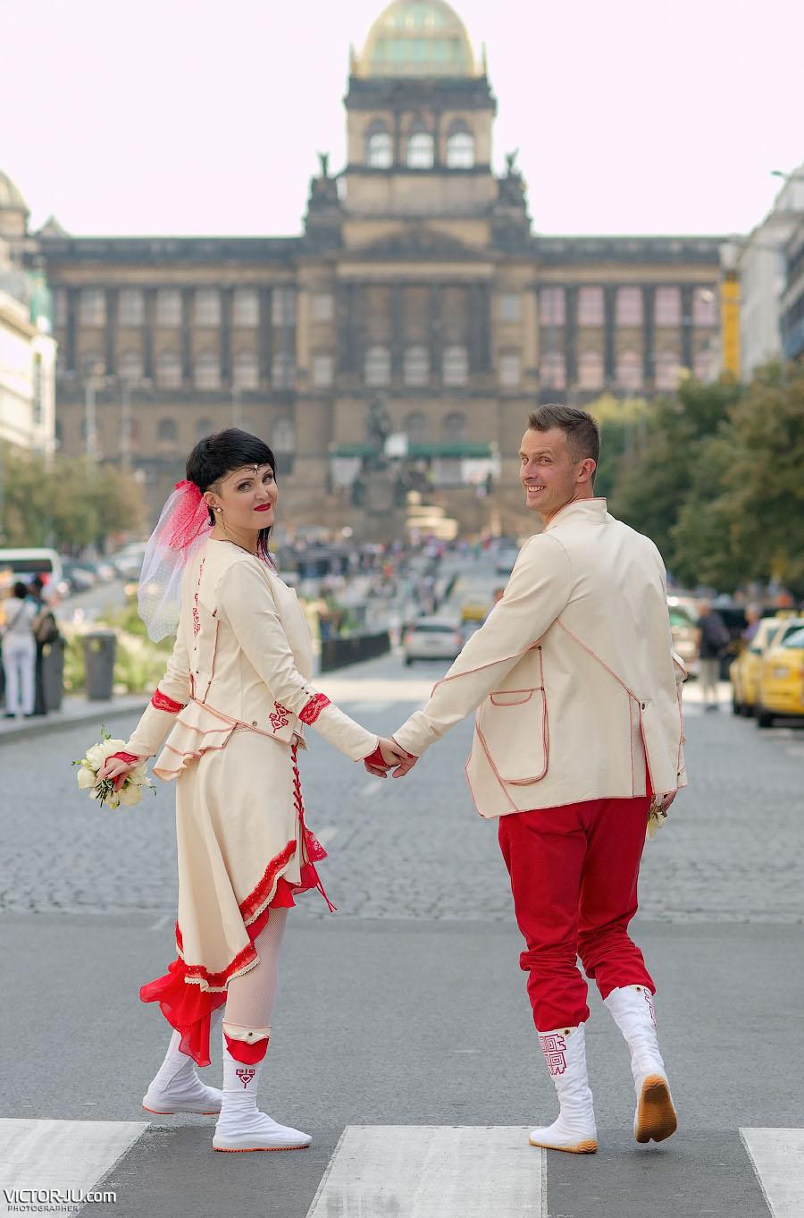 Свадьба в Праге в сентябре