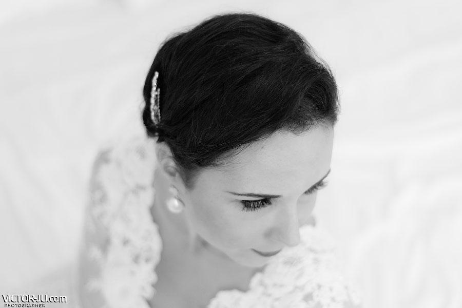 Утренний портрет невесты