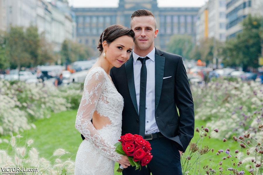 Идеи маршрута для свадебной прогулки по Праге вдвоем