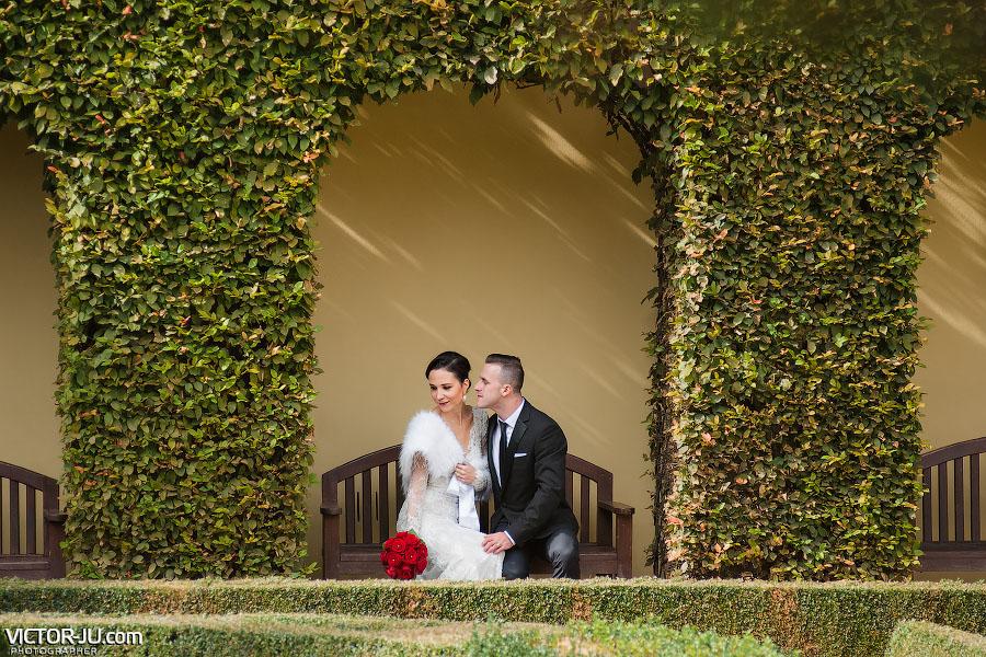 Фотосессия в красивом саду Праги