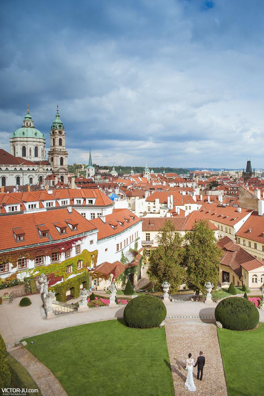 Свадебная прогулка в Праге вдвоем