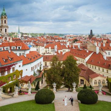Свадьба за границей для двоих – Прага, Чехия