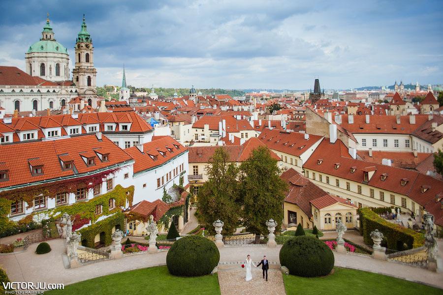 Фотосессия в Вртбовском саду в Праге