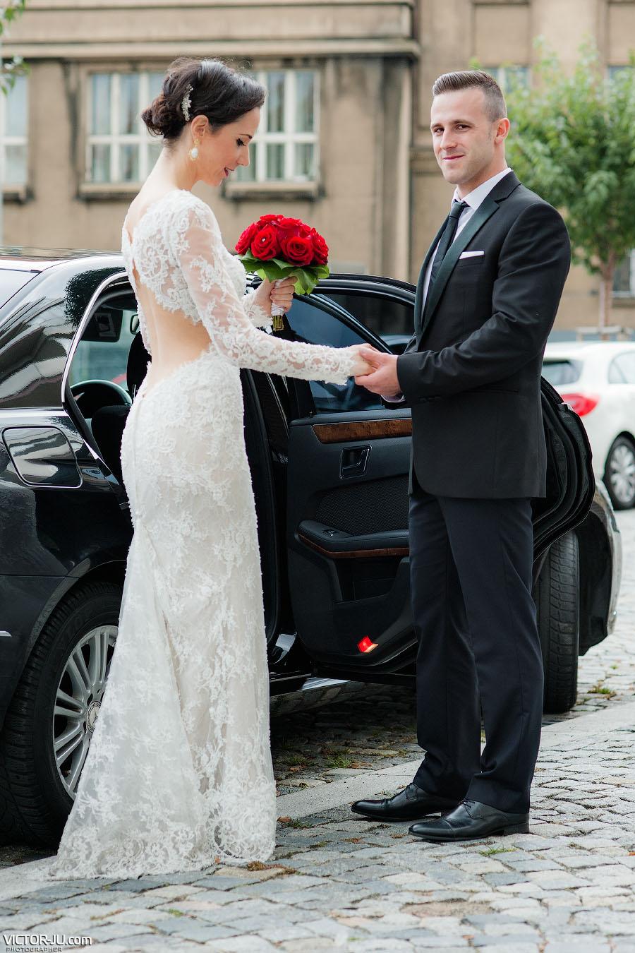 Аренда автомобиля на свадьбу в Праге