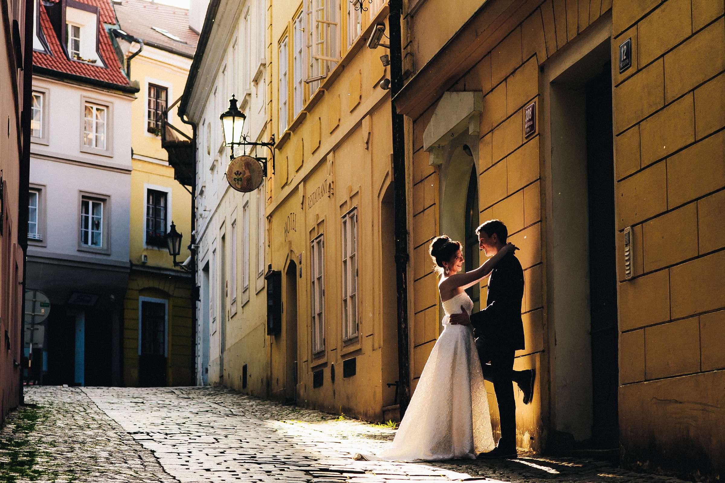 Романтическая фотосессия в Праге сергея и татьяны