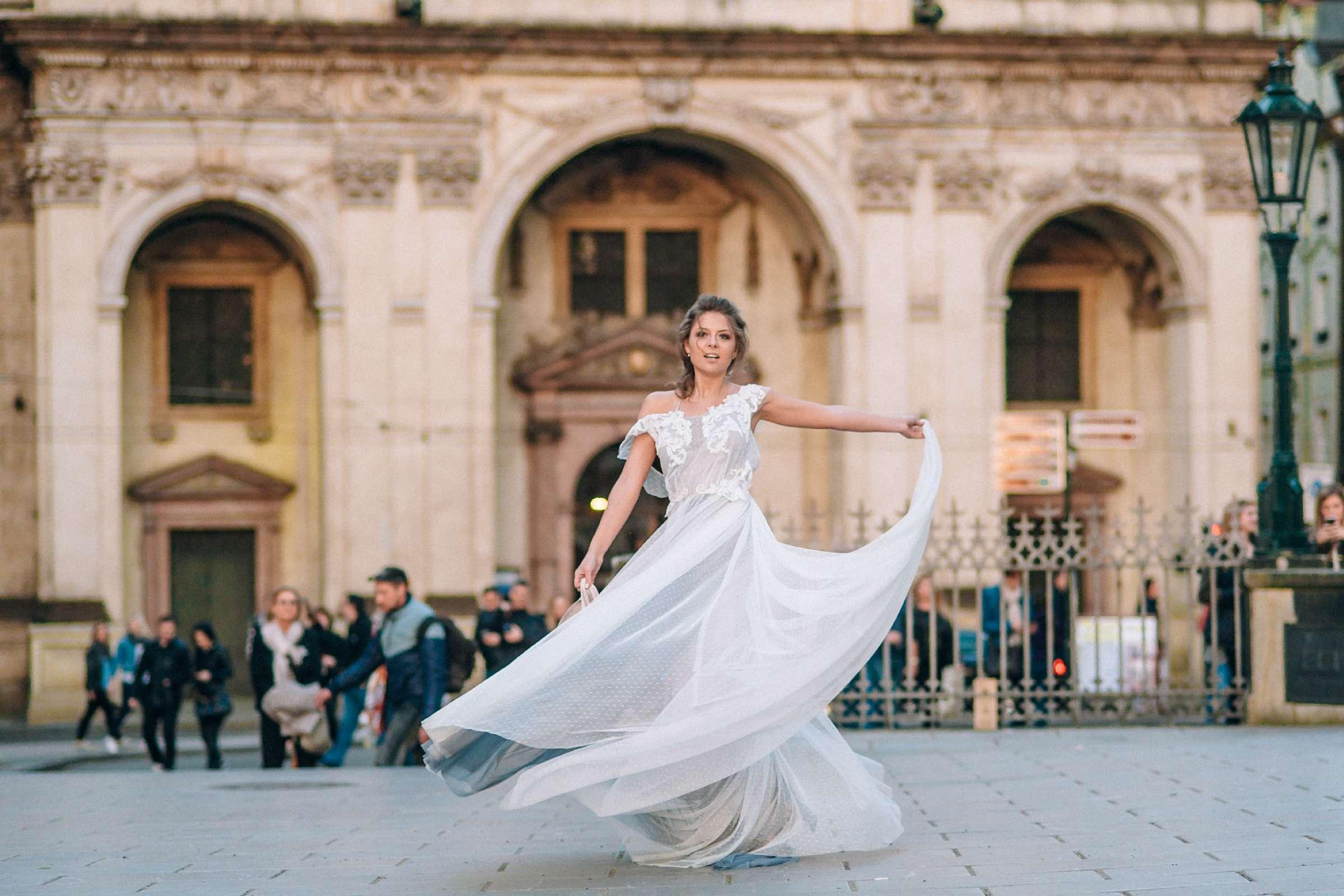 Свадебная фотосессия в Праге для Инны