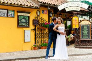 Свадьба в Праге Вртбовский сад
