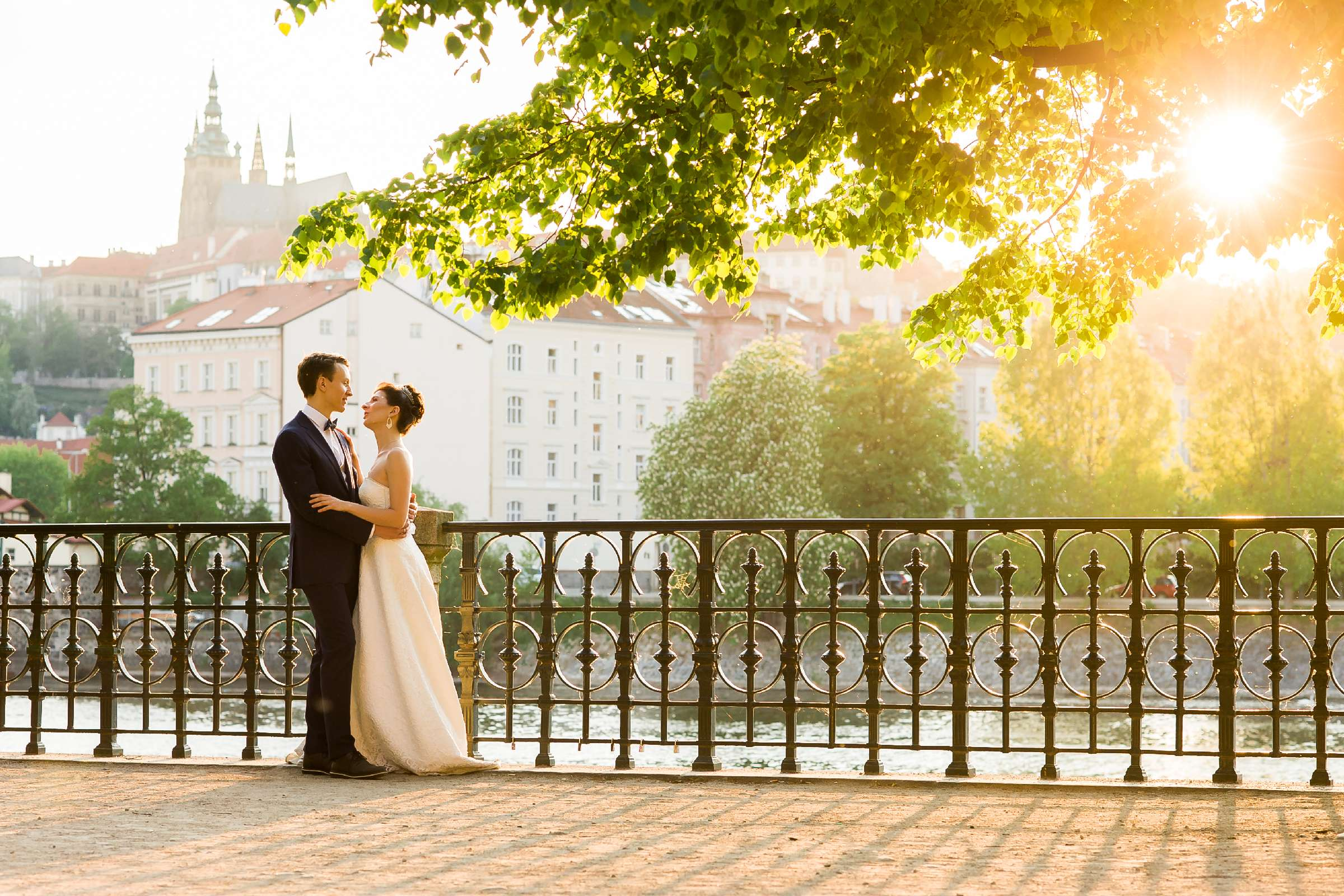 Свадьба в Праге Татьяны и Сергея