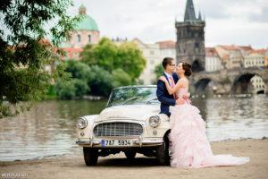 Свадьба в Праге Марии и Сергея
