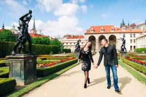 Фотосессия в Праге Галины и Антона