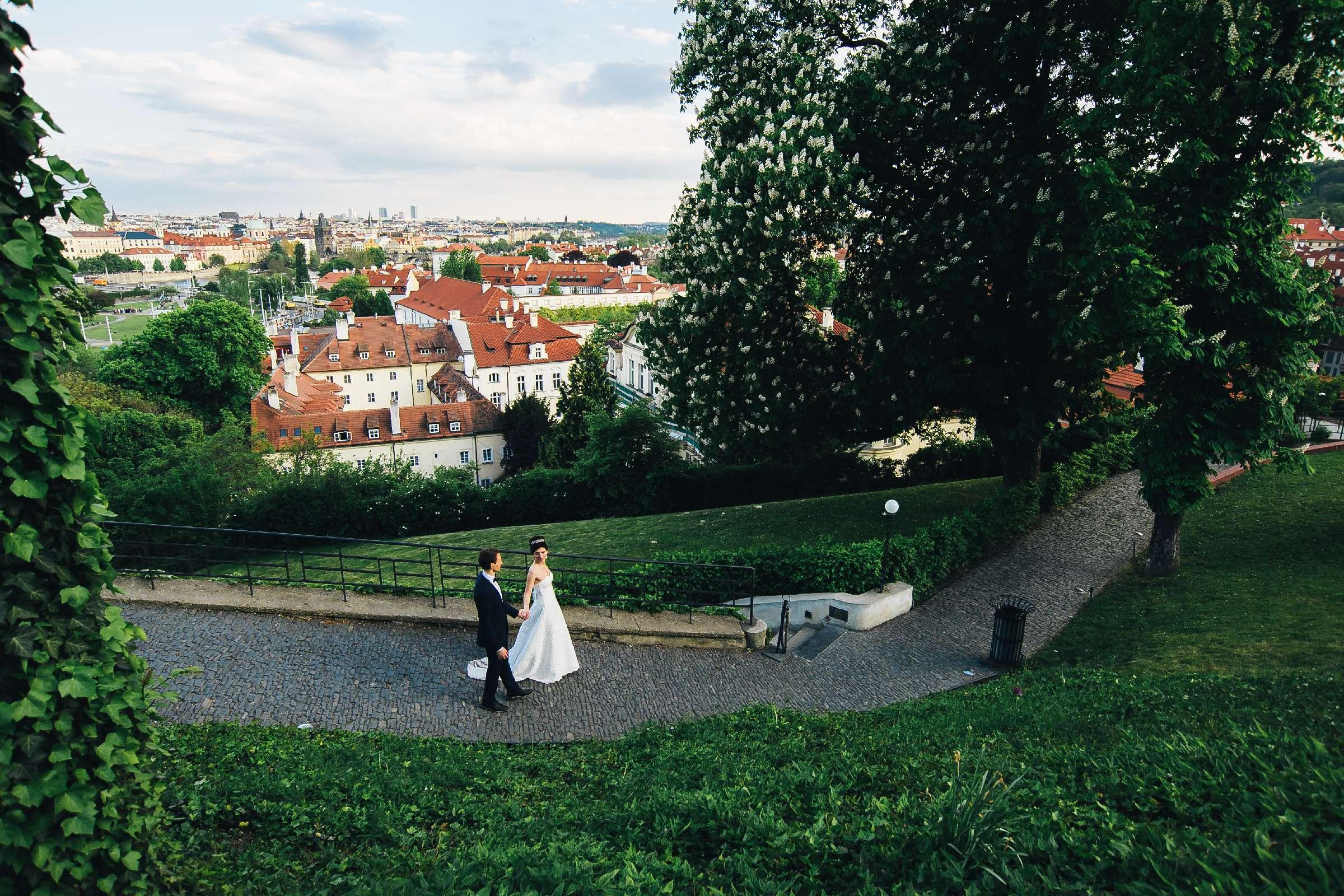 Фотосессия в Праге Татьяны и сергея