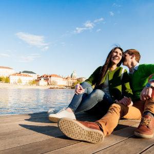 Фотосессия Love Story в Праге, Чехии