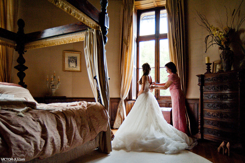 Wedding photography in the castle