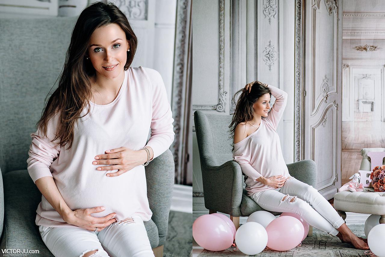 Фотосъемка беременной в Праге