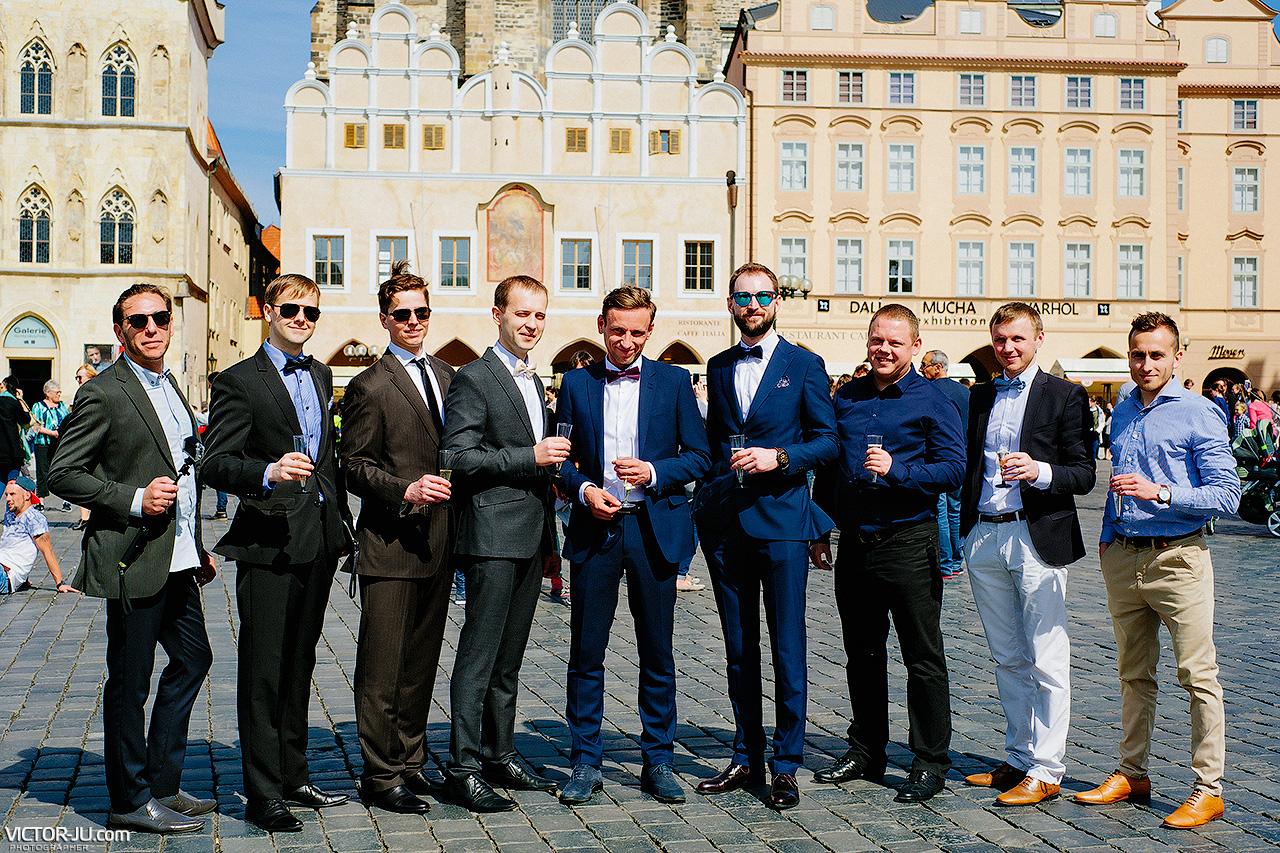 Свадьба в Праге Старомеская площадь