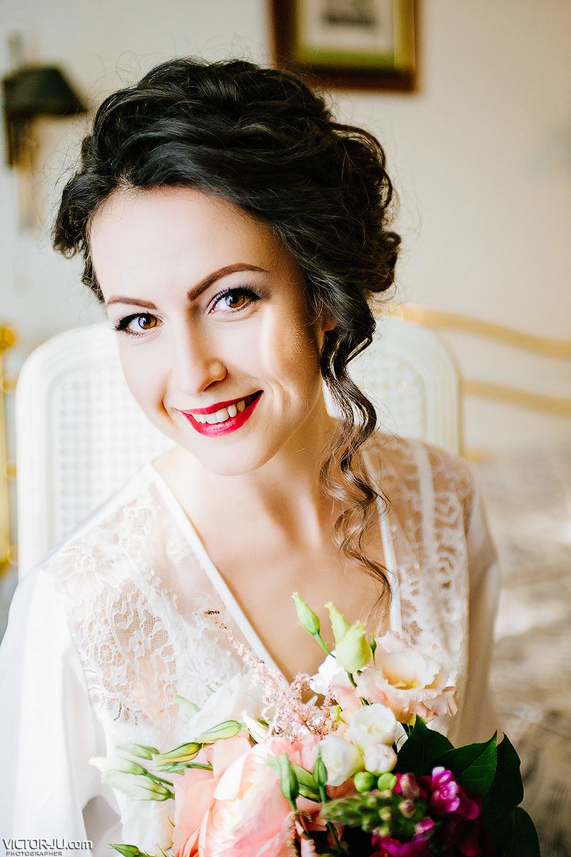 Утро невесты фотограф в Праге Виктор Здвижков