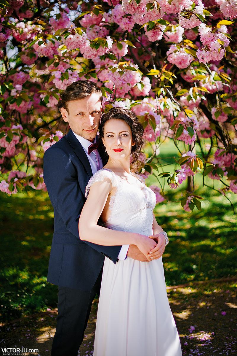 Свадебная фотосессия в Праге весной