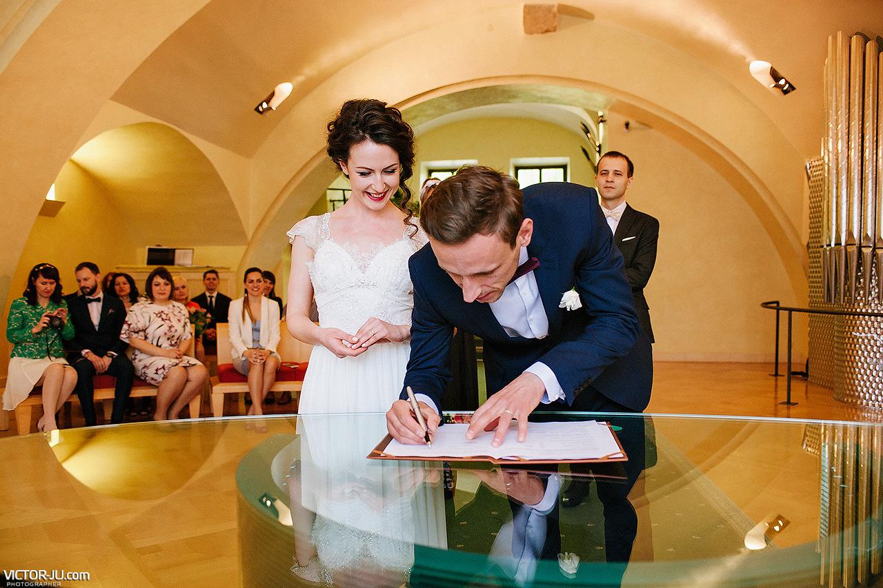 Фотограф в Праге на свадьбу