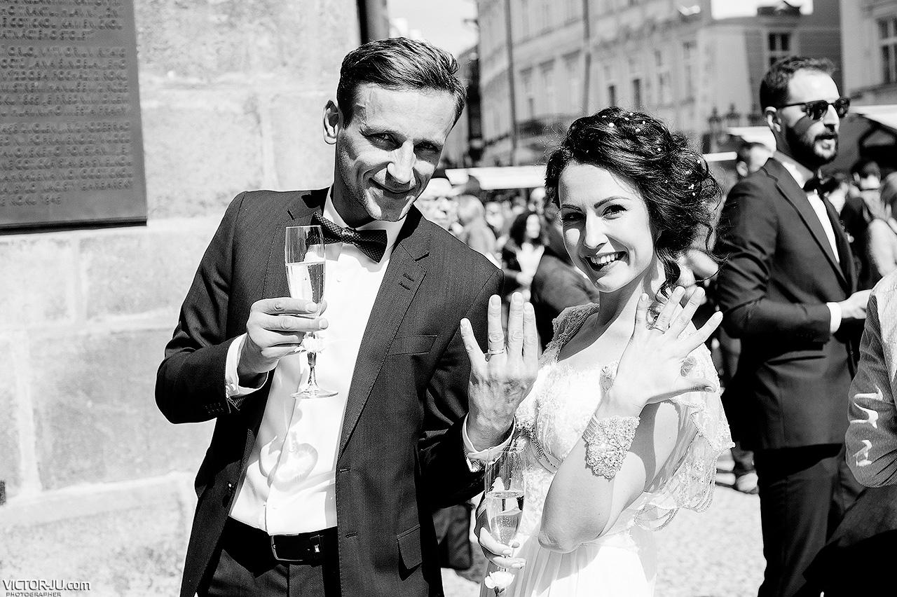 Свадьба в Праге Старомеская ратуша