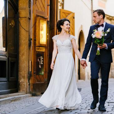 Свадьба в Праге в Староместкой ратуше Артема и Ксении