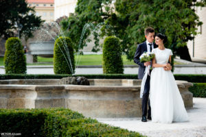 Wedding photo shoot in Prague