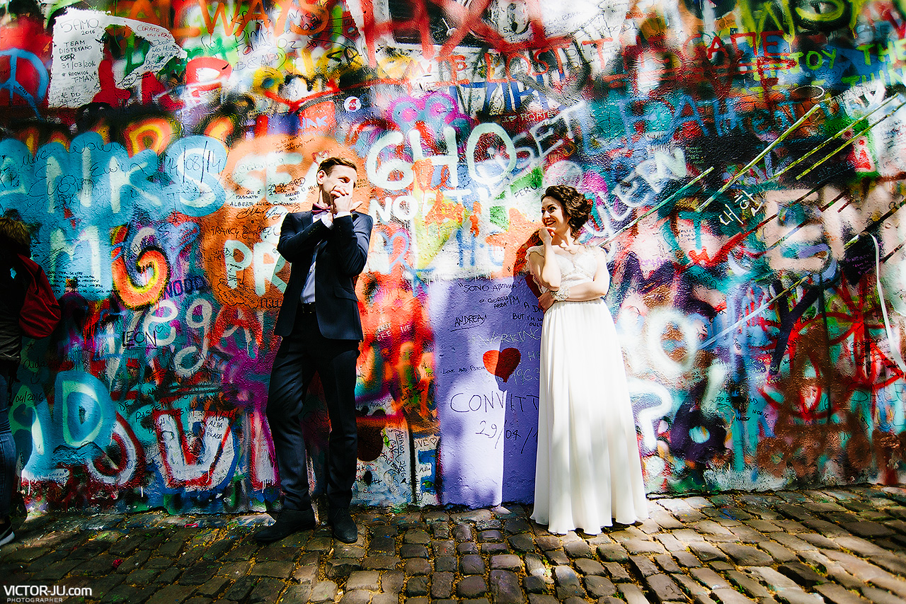 wedding & pre wedding portrait photographer serving Prague