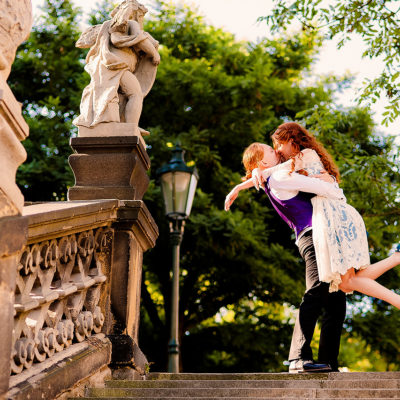 lovestory and prewedding photoshoot in Prague