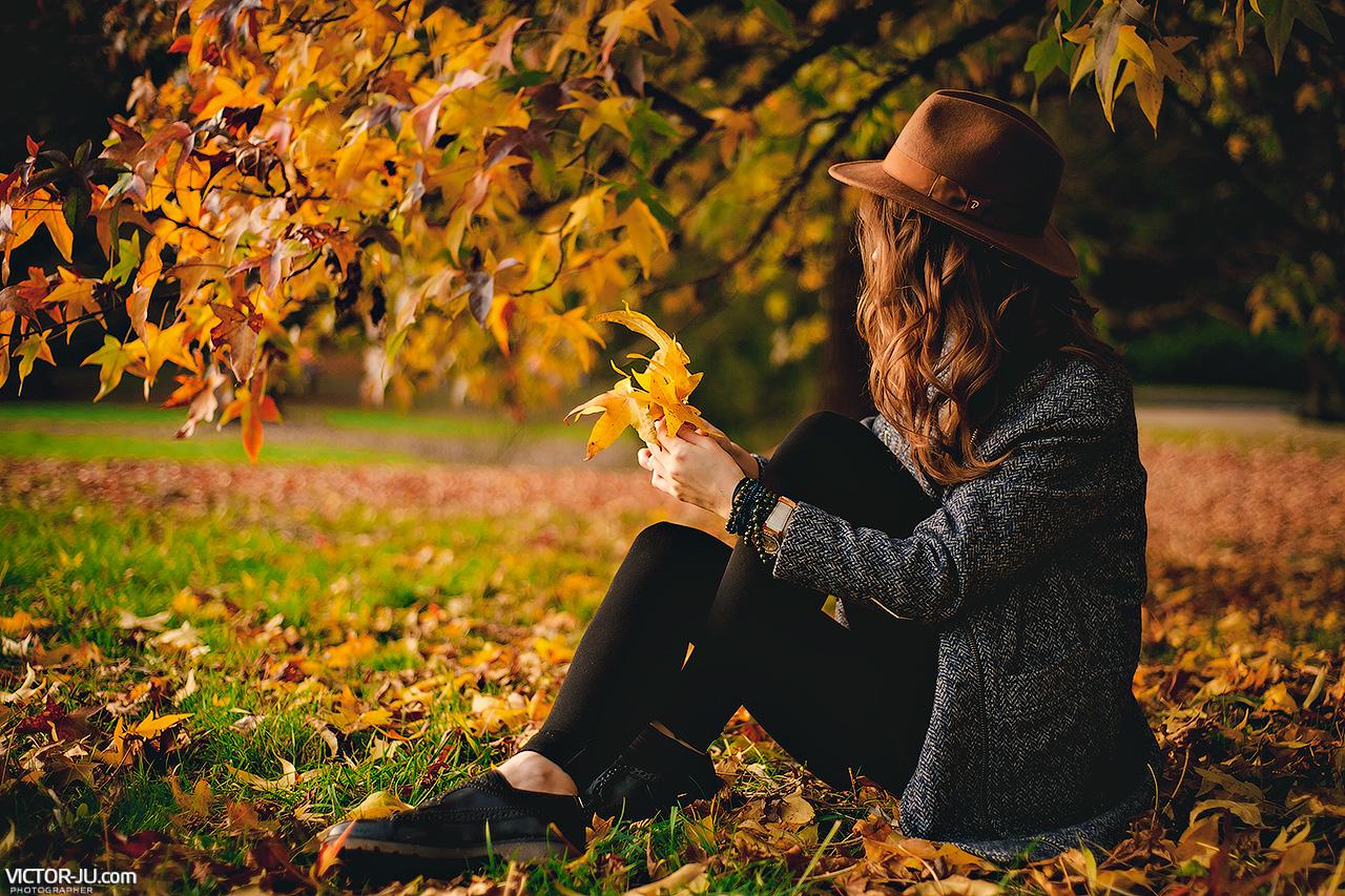 Осенняя фотосъемка в Праге