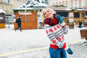Зимняя фотосессия в Праге