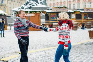 Зимняя съемка в Чехии
