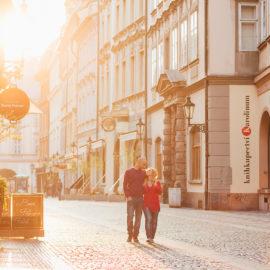 Романтическая love story в Праге Алены и Галя