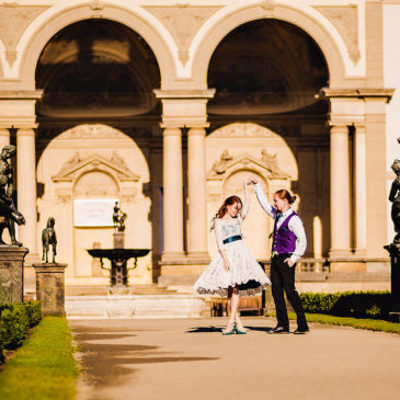 Photo shoot Love-Story in Prague for Mary and Elisei