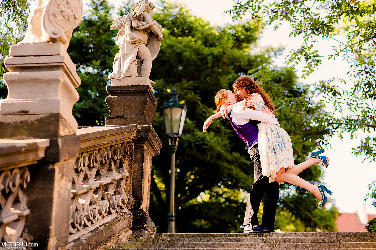 Photoshoot Love-Story in Prague
