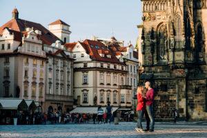 Фотосессия в Праге на рассвете
