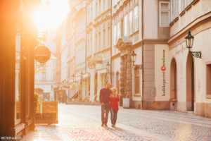 ENGAGAMENT and LOVE STORY in Prague