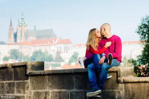 Love story в Праге